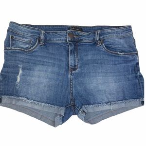 STS Blue Rolled Hem Jean Shorts